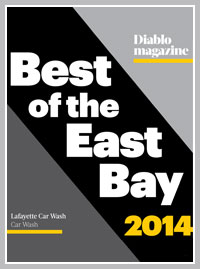 Best Car Wash Service of the East Bay 2014